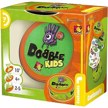 Asmodee - Dobble Kids - Gioco di Carte, Edizione in Italiano (8231)