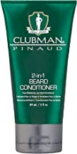 Clubman Beard 2-In-1 Conditioner 3 Ounce Tube (88ml) (3 Pack)