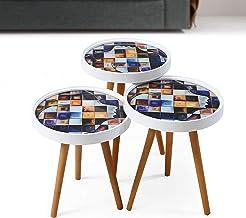 3 طاولات كلاسيكية متدرجة الحجم