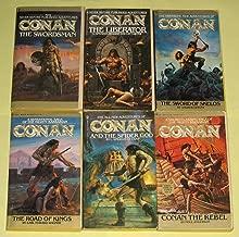CONAN THE SWORDSMAN, CONAN THE LIBERATOR, CONAN: THE SWORD OF SKELOS, CONAN: THE ROAD OF KINGS, CONAN AND THE SPIDER GOD & CONAN THE REBEL (Bantam Complete Set of 6) (Conan, 1-6)