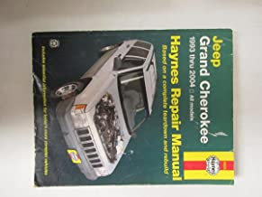 Jeep Grand Cherokee 1993 - 2004 Haynes Repair Manual of unknown on 01 June 2004