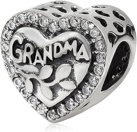 Breloque en argent sterling 925 avec inscription « My Love » pour bracelet  Pandora