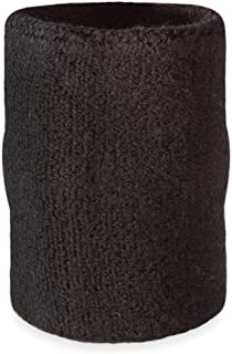 Suddora 4' Inch Arm Sweatband in 10 Athletic Cotton Armbands(1 per Package)