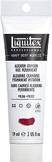 Liquitex Bs116 Professional Heavy Body Acrylic Paint, 2 oz, Alizarin Crimson Hue Permanent