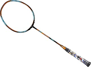 Apacs Attack 66 Black Gold Badminton Racket (5U)