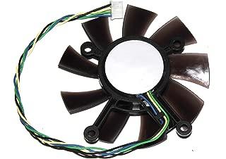 434343MM hd7770eah58306850gtx550ti gts450gts460ビデオファン、12V 4ワイヤグラフィックカードファン、ブレードファン