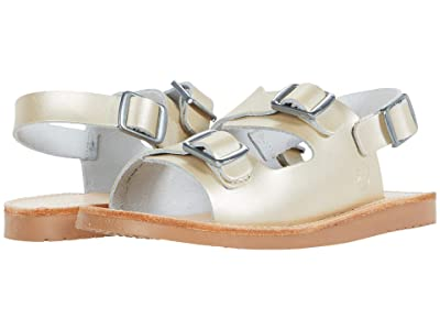 Freshly Picked Delray Sandal (Infant/Toddler/Little Kid) (Platinum) Girl