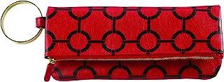 COREY PRINT CUFF CLUTCH RED