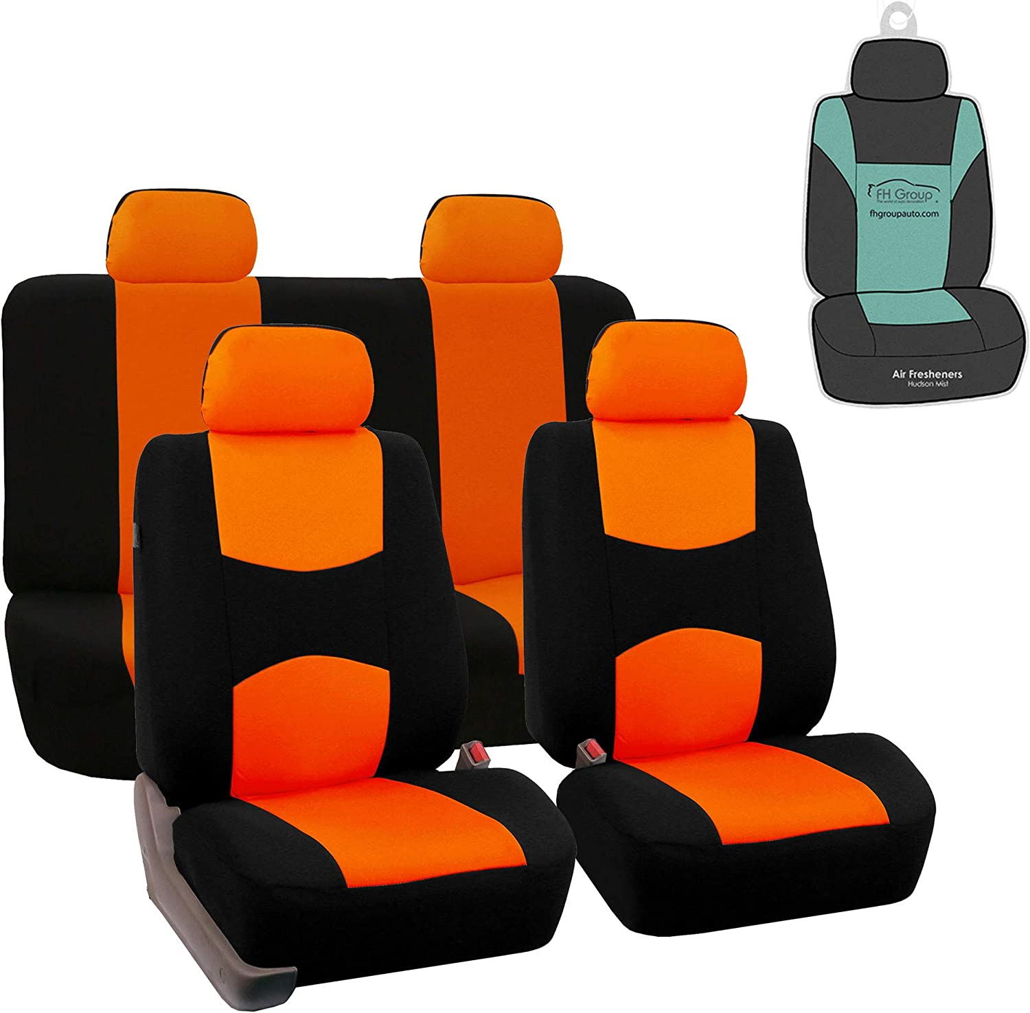 FH Group Vibrant Full Set Flat Cloth Seat Sale Special Price Or w. Gift Covers Car Max 51% OFF