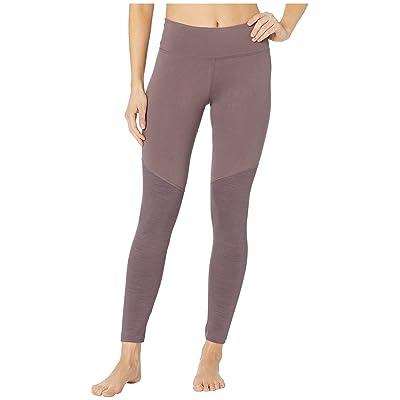 Reebok Elements Marble Color Blocked Leggings (Almost Grey) Women