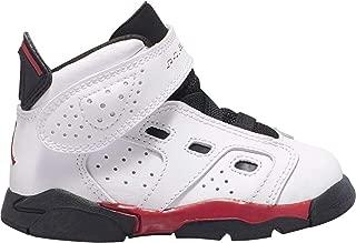 Jordan Boys' Baby/Toddler 6-17-23 (TD) 428820-100 White/Gym Red-Black