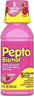 Pepto Bismol Pepto Bismol Cherry Liquid Symptom Relief Including Upset Stomach Diarrhea