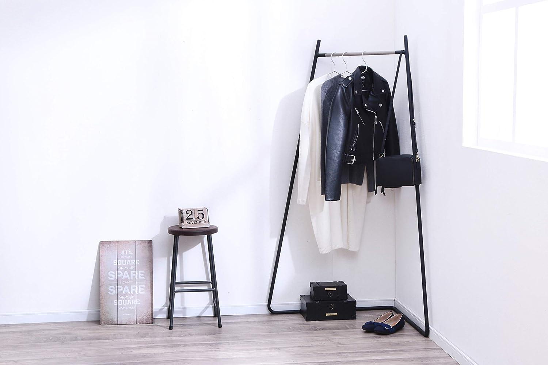 63 x 59 x 151 cm Negro Iris Ohyama Metal Garment Rack PI-C150 Perchero//Guardarropa Esquina