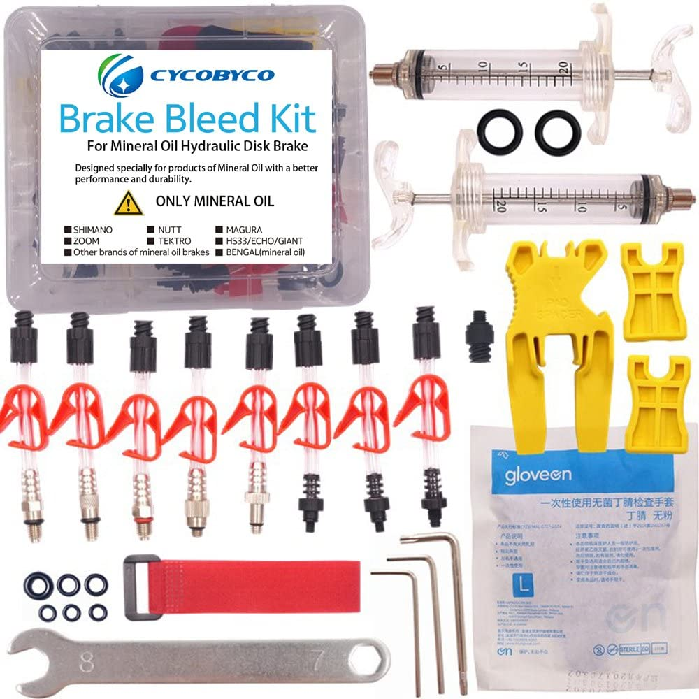 CYCOBYCO Mineral Oil Bicycle Hydraulic 2021 spring Industry No. 1 and summer new Kit Bleed Disc Brake for