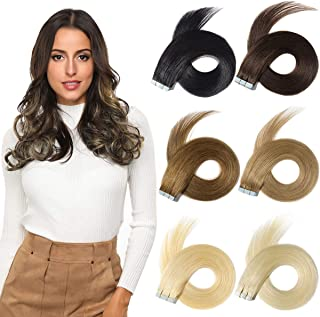 tape in synthetic hair extensions