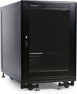 StarTech.com 15U Rack Enclosure Server Cabinet - 27.6 in. Deep - Built-in Fans (2636CABINET)