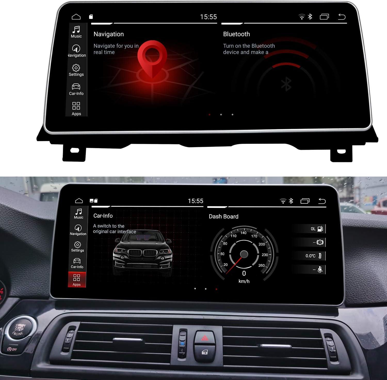 Koason Android 1920HD 12.3 Pulgada Pantalla Mostrar Screen Monitor Display Upgrade Autoradio Multimedia Player GPS Navigazione CarPlay para BMW 5Series M5 2010-2011 F10/F11 CIC