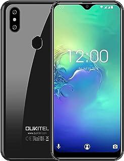 SIM フリー スマートフォン OUKITEL C15 Pro+ 4G SIMフリースマートフォン本体 3GB RAM+32GB ROM 6.1インチHD+大画面Android 9.0 携帯電話 デュアルSIM グローバルLTEバンド対応スマ8...