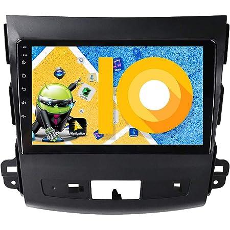 Radical R C11mt2 Android Autoradio Für Mitsubishi Outlander Dab Ukw Usb Bluetooth Wifi Wlan 10 1 Touchscreen App Radio Mit Android 9 0 Os Zum Navi Erweiterbar Navigation