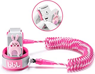 Anti Lost Wrist Link,Toddles Safety Wrist Leash,Anti Lost Rope Walking Harness with Key Lock,Babies & Kids (Pink/6.56 ft)