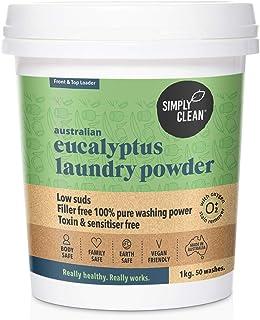 Simply Clean Australian Eucalyptus Laundry Powder 1 kg, 1 kilograms