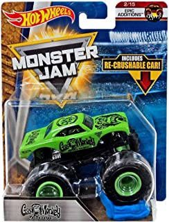 Hot Wheels 2018 Monster Jam Epic Additions 2/15 - Gas Monkey Garage (Includes Re-Crushable Car)
