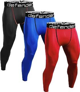Defender Compression Pants Men Under Jerseys Legging Shorts Tights