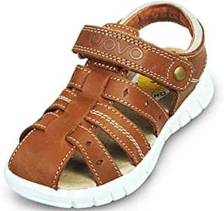 Henraly Boys Fashion Closed Toe Hook-and-Loop Beach Fisherman Sandals (Toddler/Little Kid)