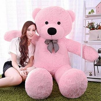 Click4deal Soft Teddy Bear Pink , 5 Feet