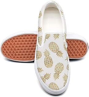 Vosda Man Pineapple Graffiti Pattern Background Boys Sneakers for Mens New Best Running Shoes