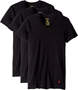 Slim Fit w/ Wicking 3-Pack V-Neck