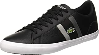 Lacoste Men's Lerond 119 3 Fashion Shoes, BLK/DK Gry