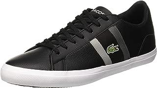 Lacoste Men's Lerond 119 3 Fashion Shoes, BLK/DK Gry