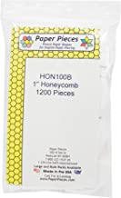 Paper Pieces HON100B Honeycomb Pack 1in 1200pc