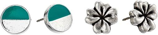 Silver/Four Leaf Clover