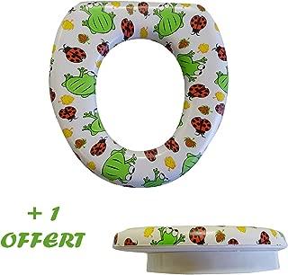 1 offert R/éducteur de toilette pour b/éb/é motif Palmiers 1 achet/é