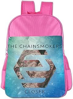 UFBDJF20 Closer The Chainsmokers Featuring Halsey1 Children's School Bag RoyalBlue