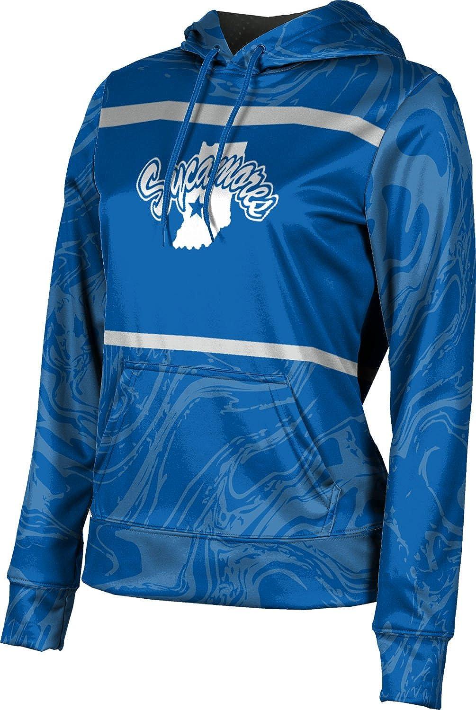 ProSphere Indiana State University Girls' Pullover Hoodie, School Spirit Sweatshirt (Ripple)
