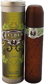 Cuba Green Cologne By Fragluxe For Men 3.4 Oz / Eau De Toilette Spray