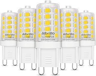 Lámpara LED G9 de Albrillo, 4000K, 3.5W, G9