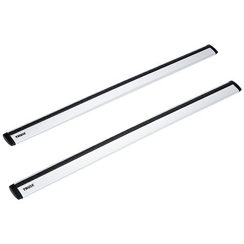 Longueur 127 cm Thule 969100 Barres de Toit WingBar 969 en Aluminium-Noir