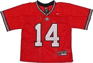 NIKE Georgia Bulldogs (University of) Kids/Youth College Football Jersey Size 6 Red