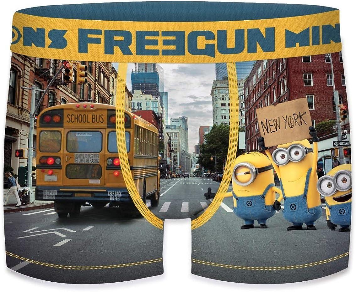 Freegun Freegun B/óxer para Ni/ños pack de 3 Despicable Me