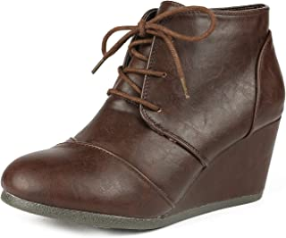 Best low heel brown booties Reviews