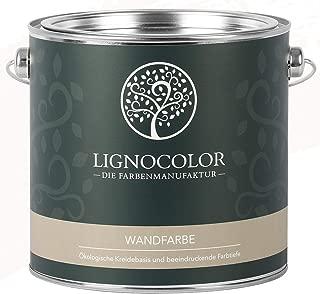 Lignocolor Wandfarbe Innenfarbe Deckenfarbe Kreidefarbe edelmatt 2,5 L Altweiss
