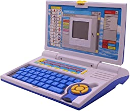 Toy Shopee™ 20 Activities & Games Fun Educational English Learner Laptop with Keyboard Mouse for Kids