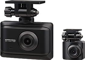 コムテック ドライブレコーダー ZDR016 前後2カメラ 前後200万画素 FullHD GPS搭載 後続車両接近お知らせ機能搭載 安全運転支援機能搭載 常時録画 衝撃録画 高速起動