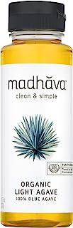 Madhava Agave Nectar, Light, 11.75 oz