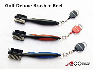 A99 Golf Deluxe Brush + Retractable Reel