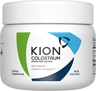 Kion Colostrum | Grass-Fed Bovine | Gut Health and Immune Support | 30 Servings